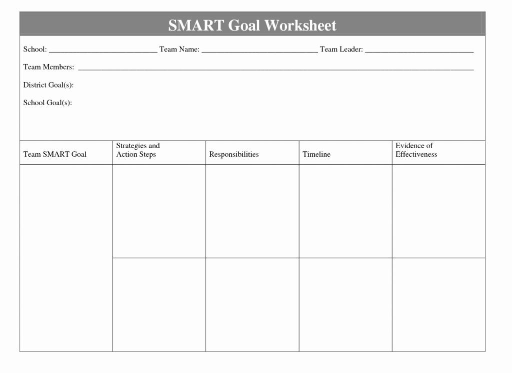 Smart Goals Worksheet Pdf Inspirational 15 Smart Goals Worksheet Pdf