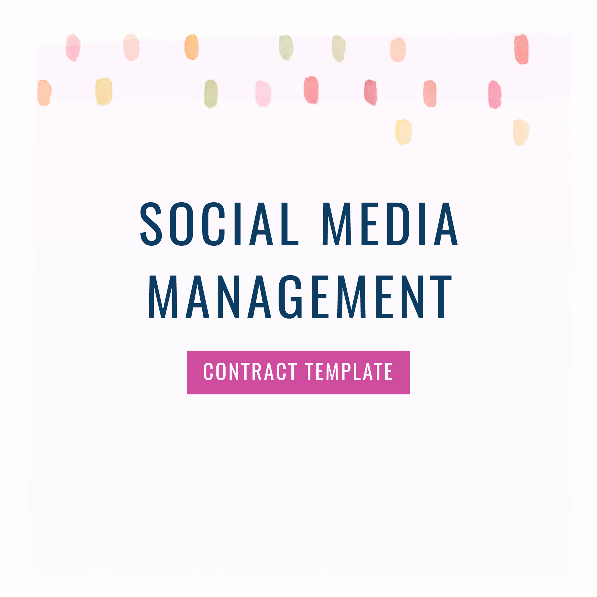 Social Media Management Contract Beautiful social Media Manager Contract Template the Contract Shop