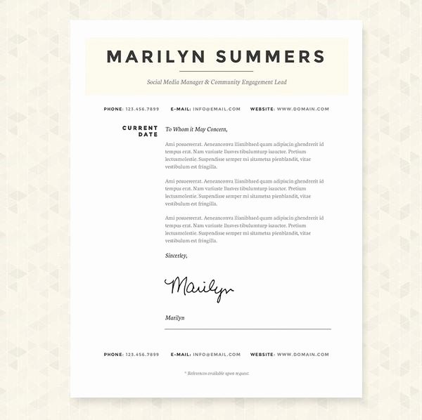Social Media Manager Resumes Best Of Classic social Media Manager Resume Cover Letter