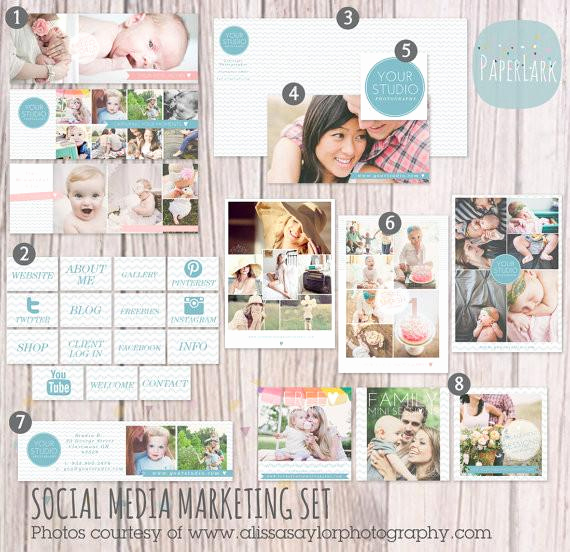 Social Media Marketing Contract Fresh social Media Sets