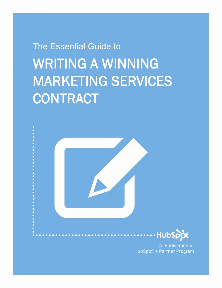 Social Media Marketing Contract Unique How to Write A Winning Marketing Services Contract