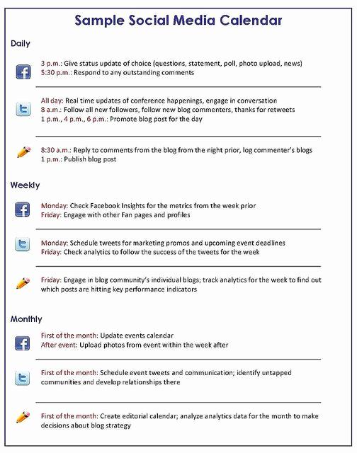 Social Media Marketing Plan Templates Luxury social Media Marketing Plan Template Google Search
