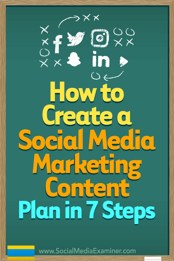 Social Media Marketing Proposal Awesome How to Create A social Media Marketing Content Plan In 7