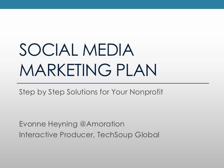 Social Media Marketing Proposal Inspirational Creating A social Media Marketing Plan