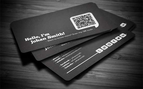 Social Media On Business Cards Fresh social Media Business Cards 20 Creative Examples