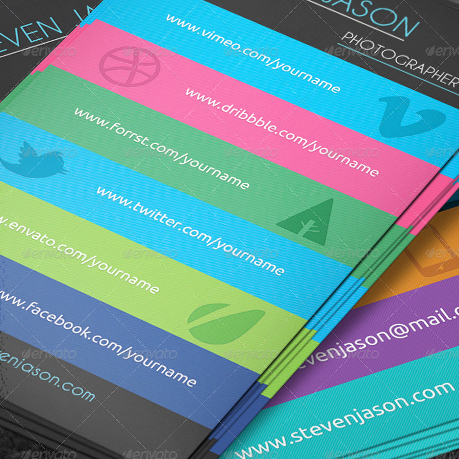 Social Media On Business Cards Lovely social Media Business Card No 2 by Scopulus