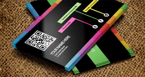 Social Media On Business Cards New social Media Business Cards 20 Creative Examples