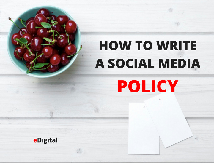 Social Media Policy Templates Awesome How to Write the Best social Media Policy Guidelines