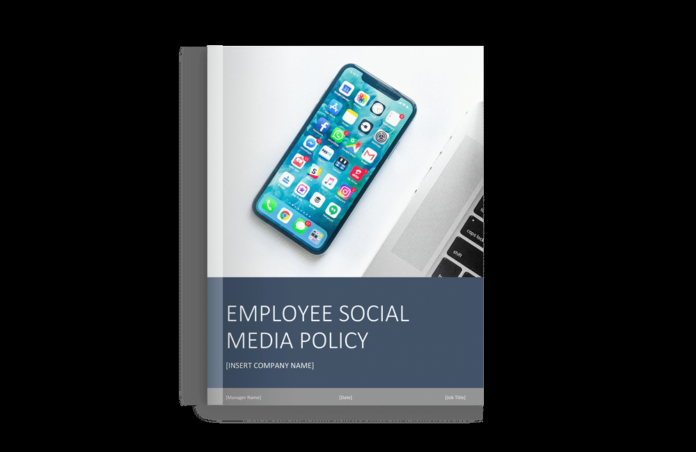 Social Media Policy Templates New [free Template] Free social Media Policy Template