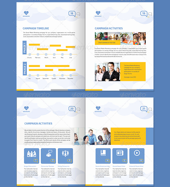 Social Media Proposal Template Awesome 39 Best Marketing Proposal Templates & Samples Word