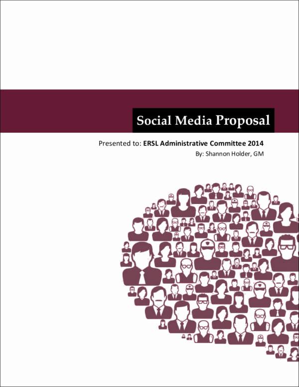 Social Media Proposal Template Elegant 5 social Media Marketing Proposal Samples & Templates