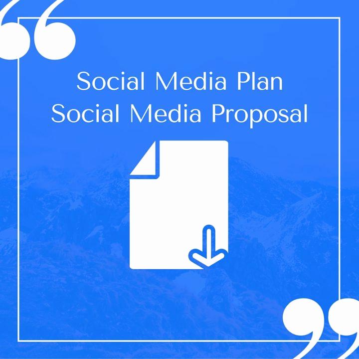 Social Media Proposal Template Elegant Free Pelling social Media Plan Templates to Win Clients