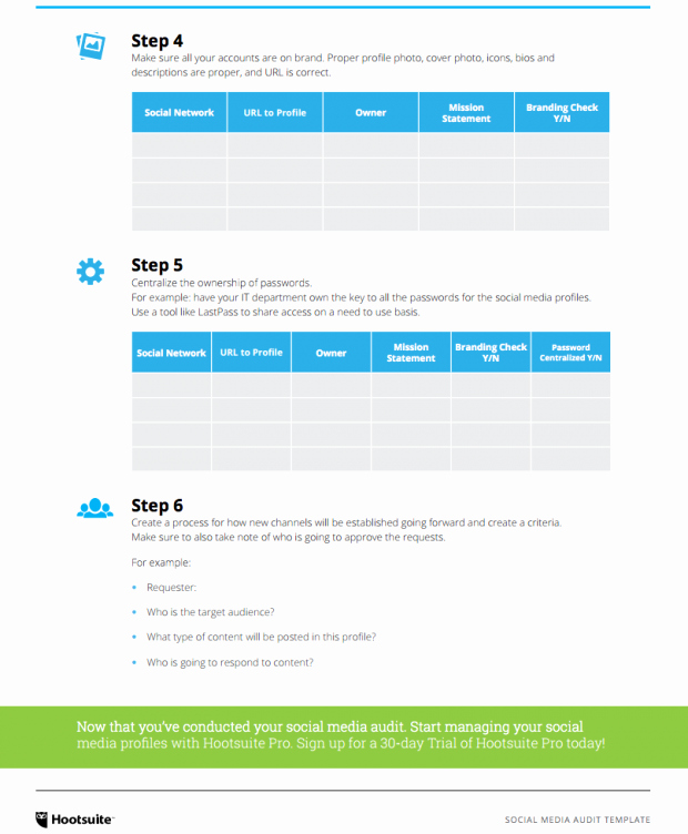 Social Media Proposal Template Elegant How to Create A social Media Marketing Plan In 6 Steps