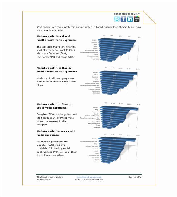 Social Media Report Template New social Media Report Template – 11 Free Word Pdf