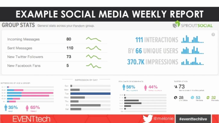 Social Media Report Templates Inspirational social Media Reporting Templates – Emmamcintyrephotography