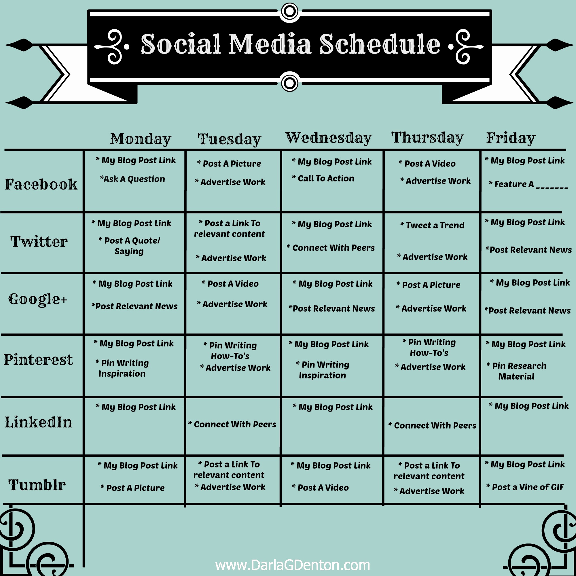 Social Media Schedule Template Beautiful Job Search Washington County Pa social Media Dashboards