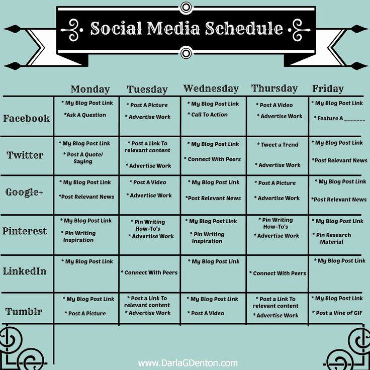 Social Media Schedule Template Elegant 25 Best Ideas About social Media Calendar Template On
