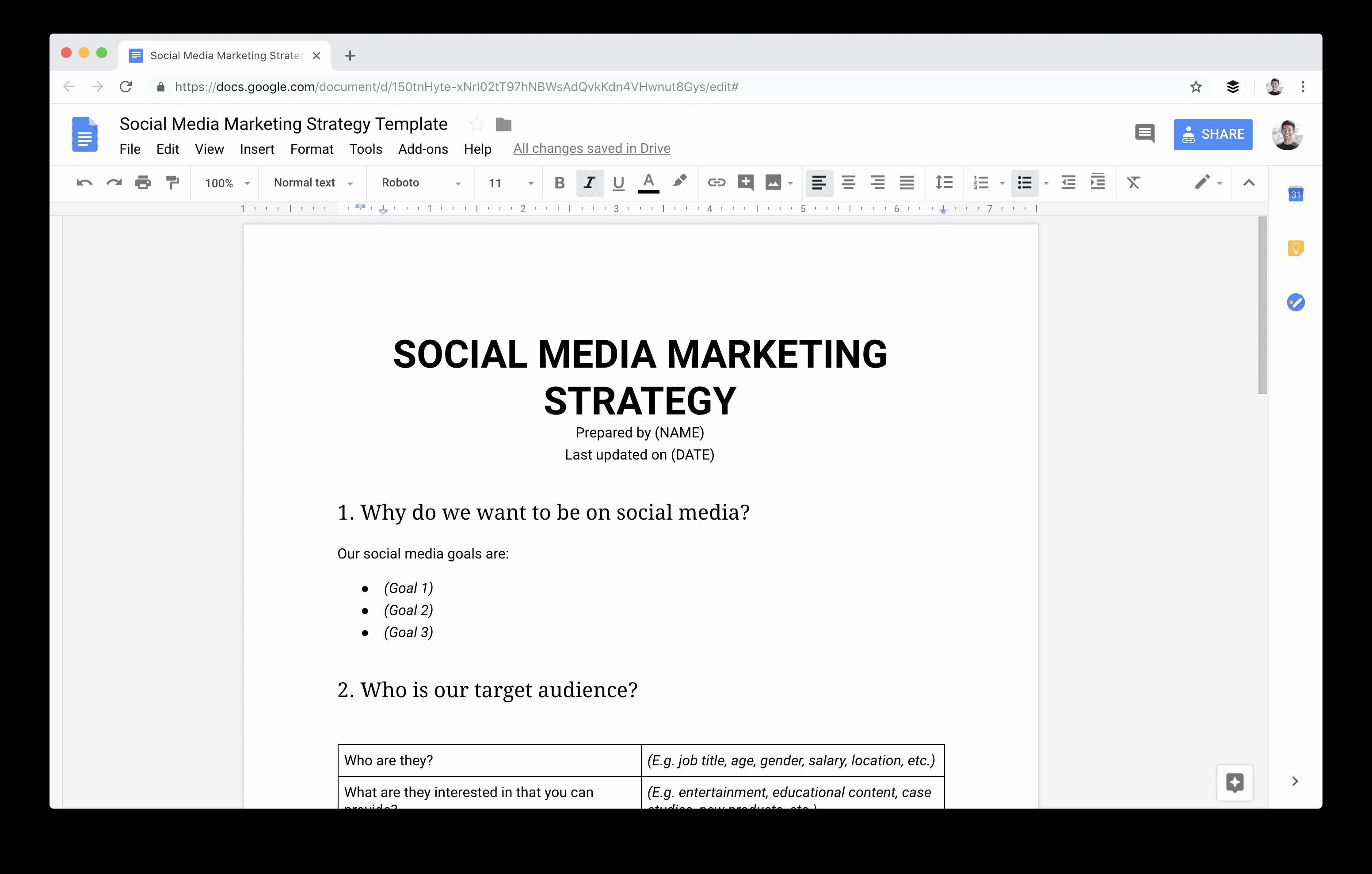 Social Media Strategy Example Elegant social Media Marketing Strategy the Plete Guide for