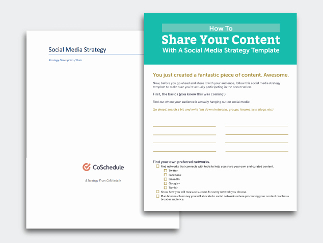 Social Media Strategy Example Luxury 6 Must Have social Media Templates to Save Your Marketing