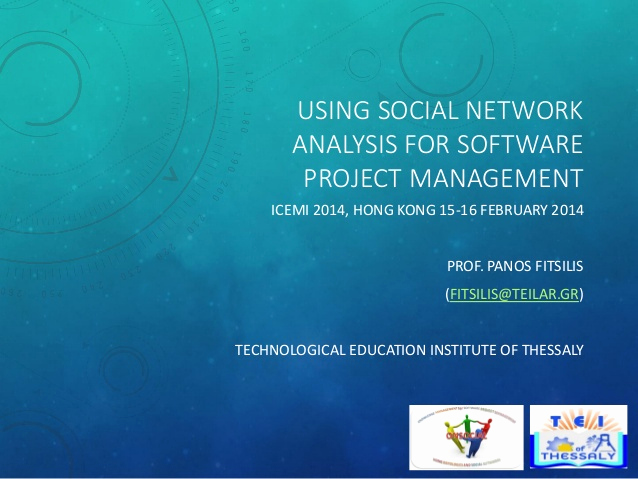 Social Network Analysis software Elegant Project Knowledge Management Based On social Networks