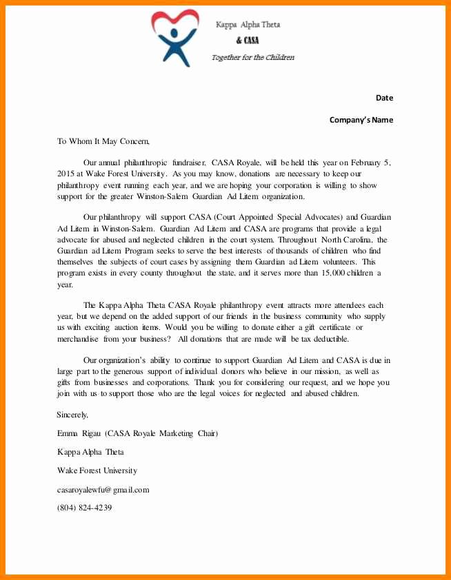 Sponsorship Letter for event Unique 13 event Sponsorship Letters