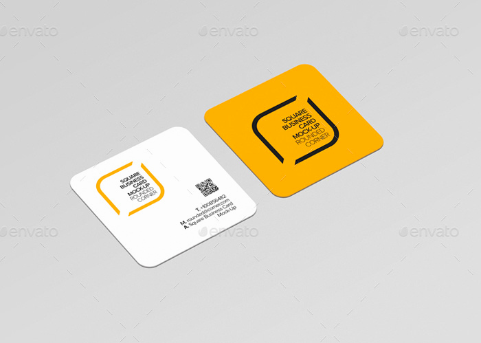 Square Business Card Mockup Awesome 21 Square Business Card Mockups Free & Premium Designyep