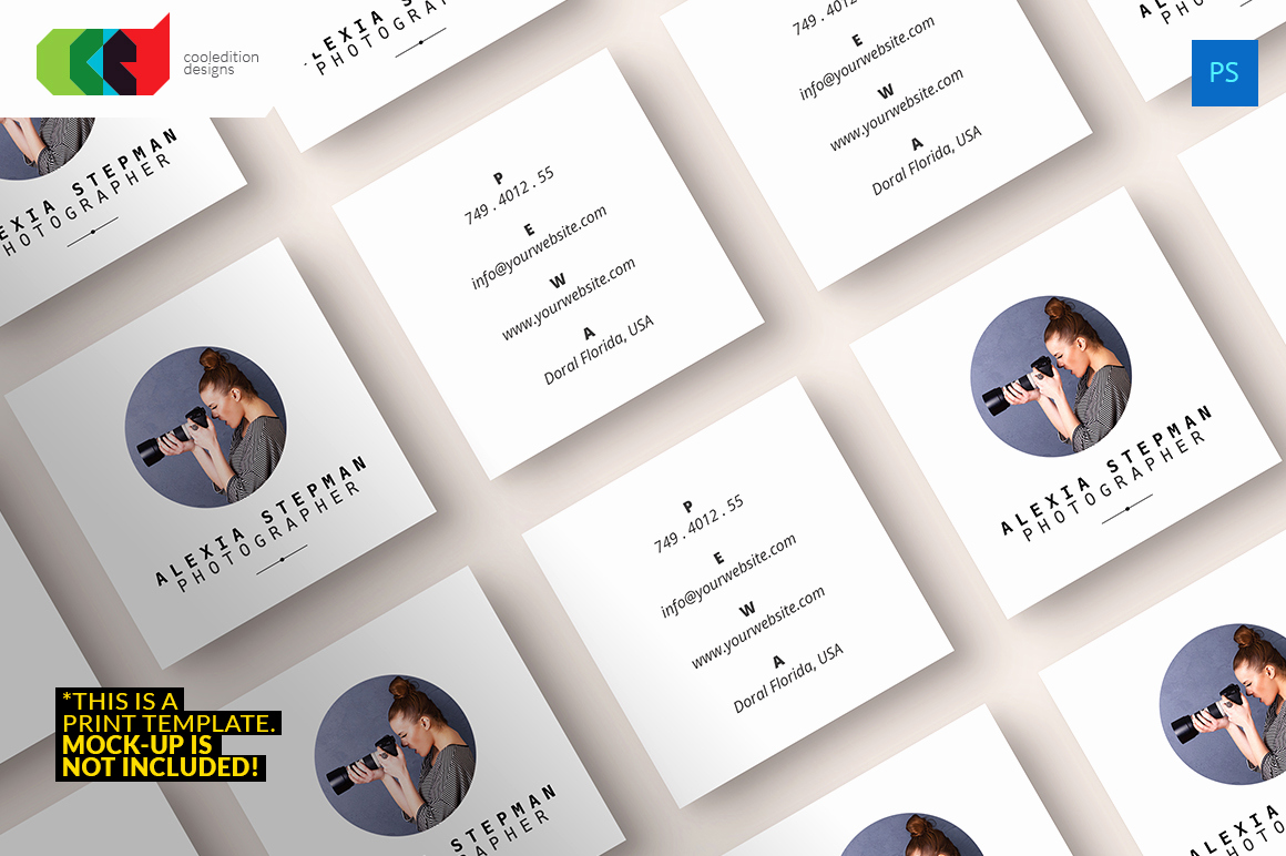 Square Business Card Mockup Awesome Square Business Card 43 Business Card Templates On