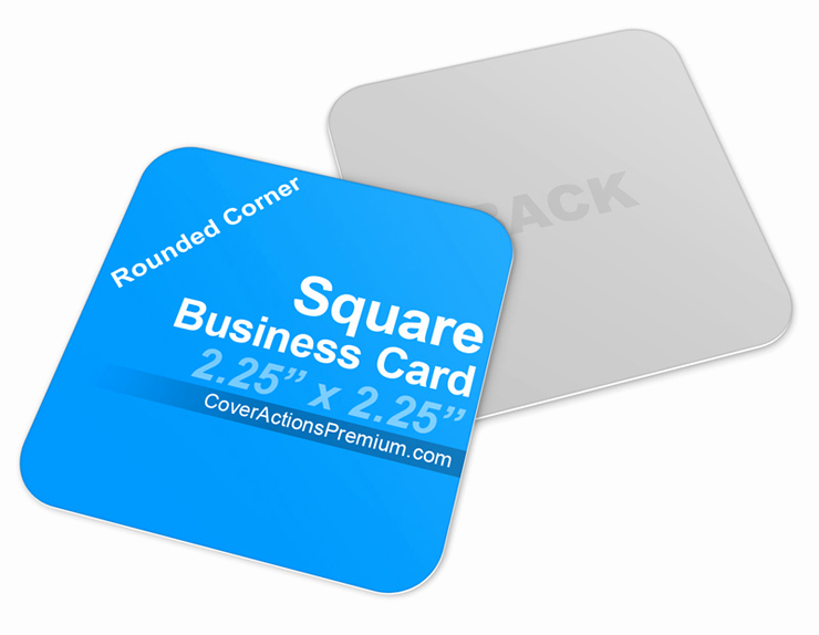 Square Business Card Mockup Awesome Square Business Card Mockup