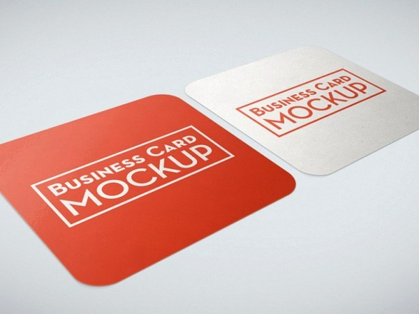 Square Business Card Mockup Beautiful 10 Free Square Business Card Mockups Smashfreakz