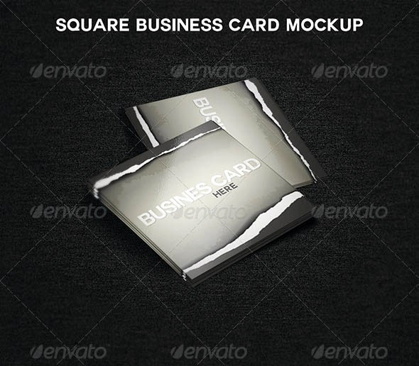 Square Business Card Mockup Beautiful 15 Square Business Card Mockup for Identity Project