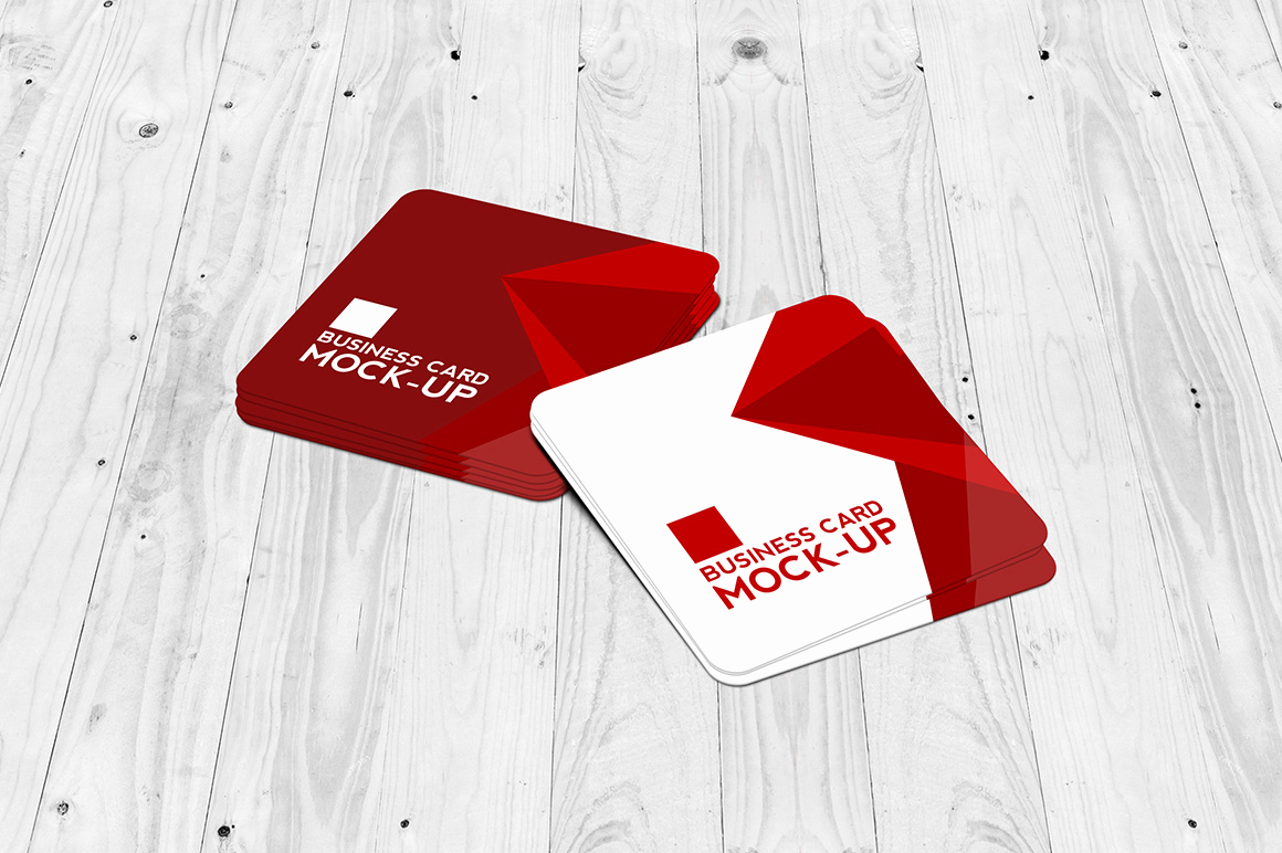 Square Business Card Mockup Elegant 30 Latest Psd Mockup Templates to Showcase Your Design