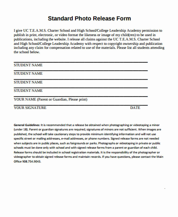 Standard Medical Records Release form Inspirational Patient Release form Template