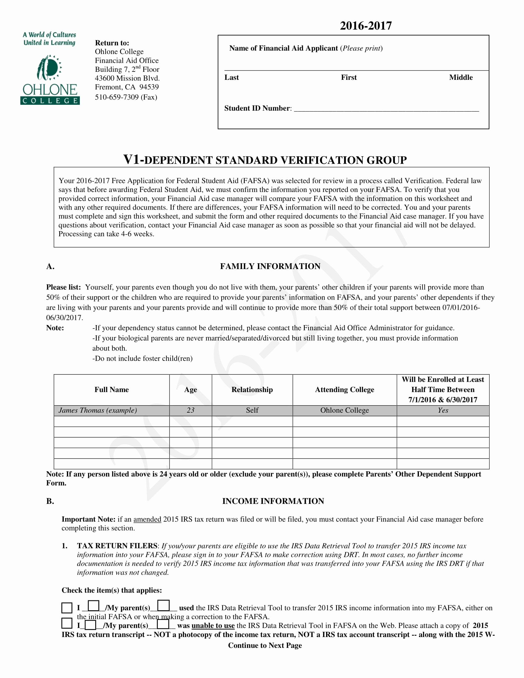 Standard Verification Of Employment form Awesome 7 Steps In Filling Out A Dependent Verification form