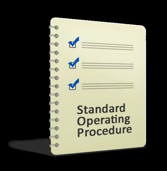 Standing Operating Procedures format Unique Standard Operation Procedure Template