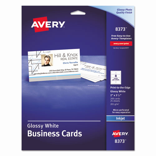 Staples Business Card Template Awesome Bettymills Avery Inkjet Glossy Quality Business