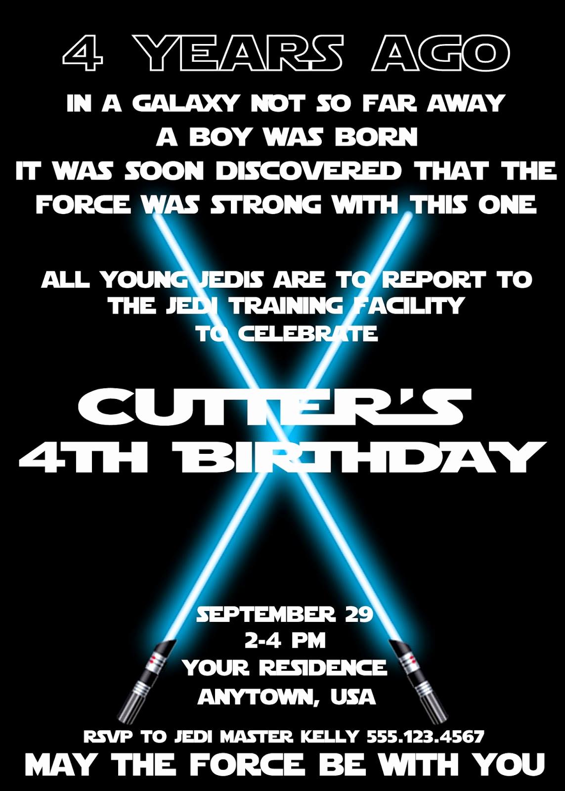 Star Wars Birthday Invitations Beautiful Plan An Amazing Star Wars Birthday Party