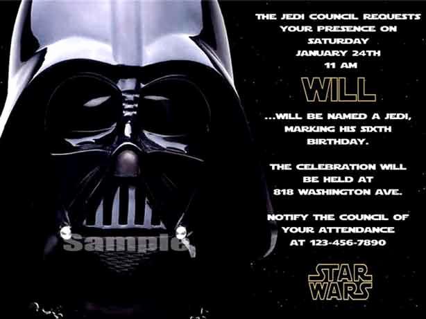 Star Wars Birthday Invitations Fresh the Best Star Wars Birthday Invitations by A Pro Party