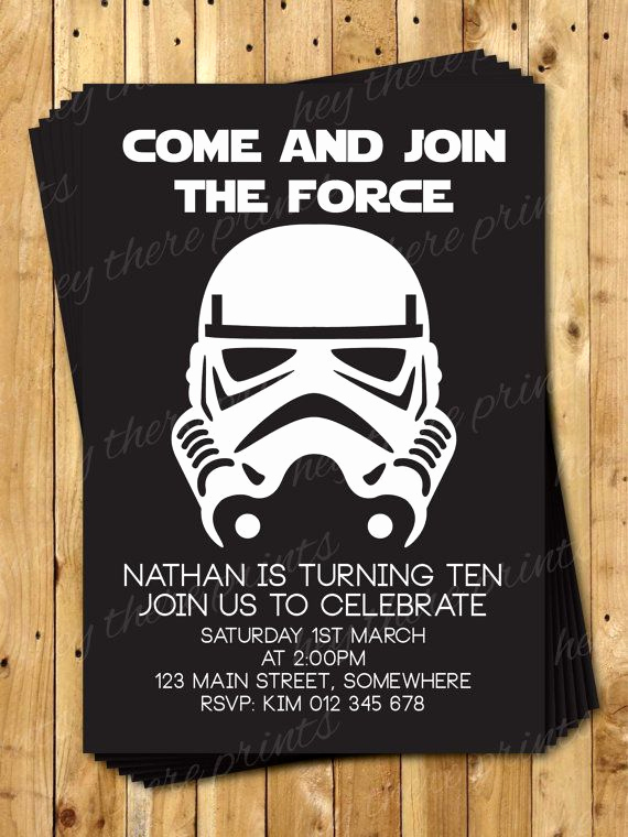 Star Wars Invitation Templates Beautiful 1000 Ideas About 21st Birthday Invitations On Pinterest