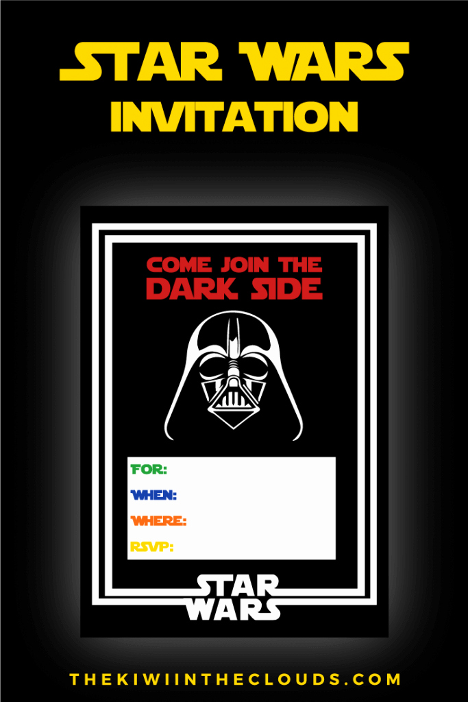 Star Wars Invitation Templates Beautiful the Best Star Wars Party Ideas Happiness is Homemade