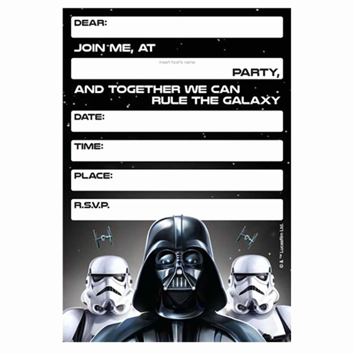 Star Wars Invitation Templates New Lego Star Wars Birthday Invitations Template – Bagvania