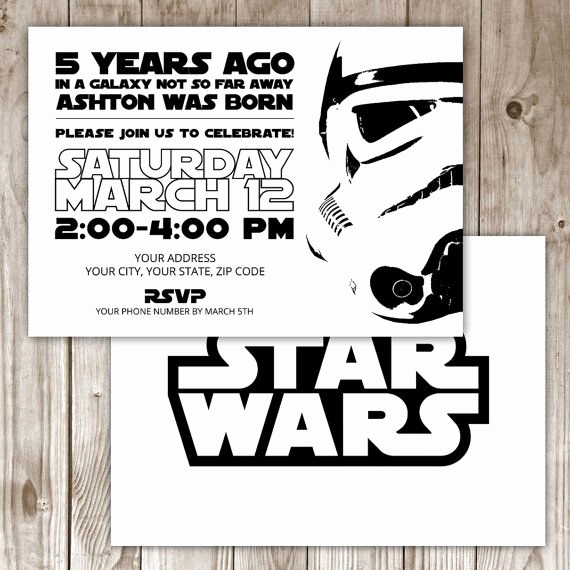 Star Wars Invitations Template Awesome 17 Best Ideas About Star Wars Invitations On Pinterest