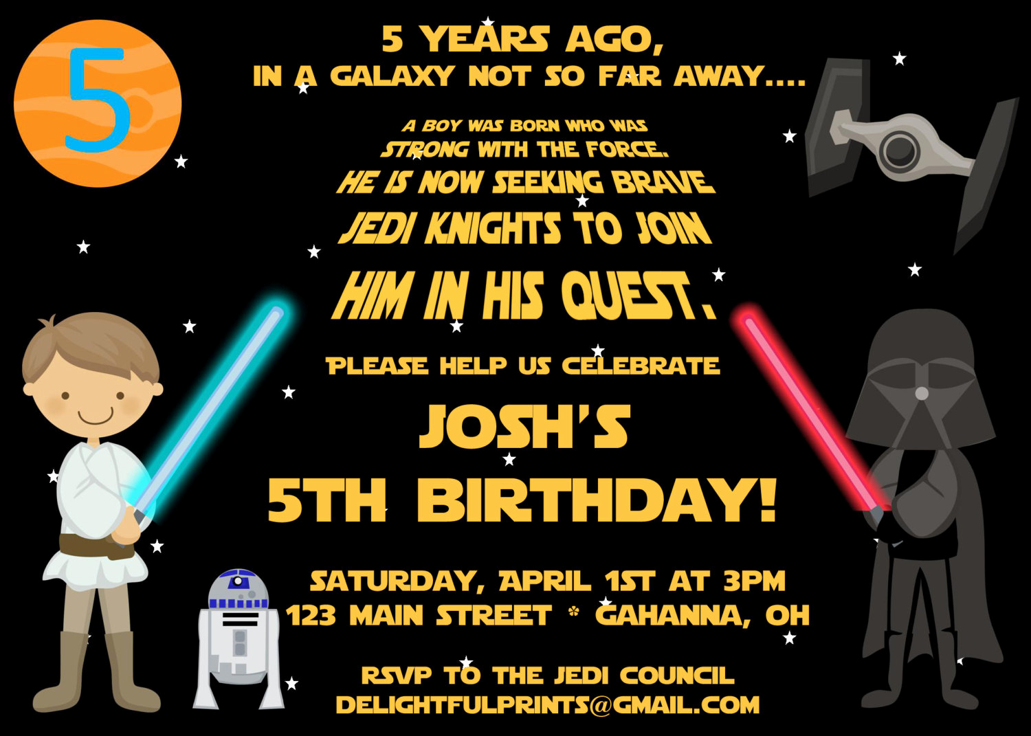 Star Wars Invitations Template Awesome Free Printable Star Wars Birthday Party Invitations
