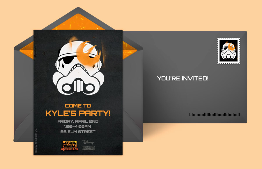 Star Wars Invitations Template Awesome Free Star Wars Invitations Star Wars Line Invitations