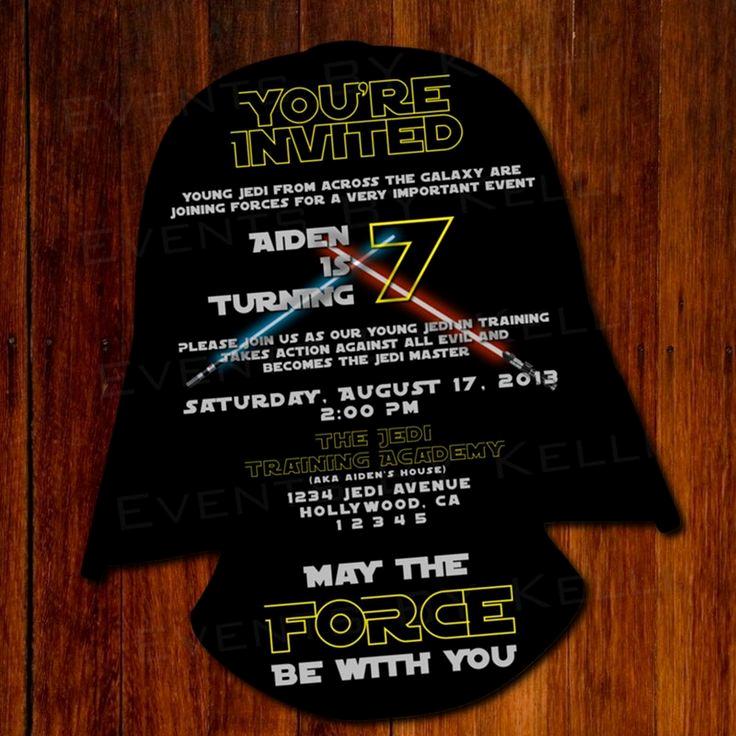 Star Wars Invitations Template Elegant 11 Best Star Wars Party Invitation Images On Pinterest