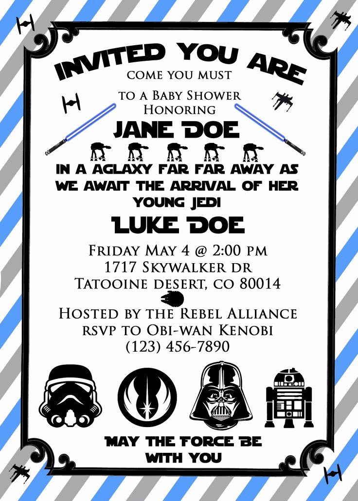 Star Wars Invitations Template Lovely 17 Best Ideas About Star Wars Invitations On Pinterest
