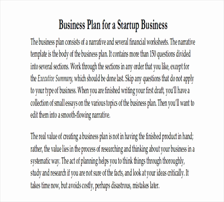 Startup Business Plan Template Pdf Inspirational How Do I Write A Business Plan for A Restaurant 14