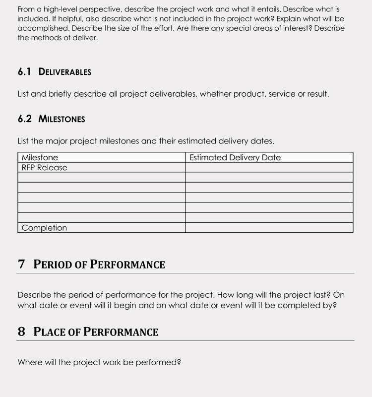 Statement Of Work Template Word Beautiful 20 Statement Of Work Templates Excel Word Write Pro sow