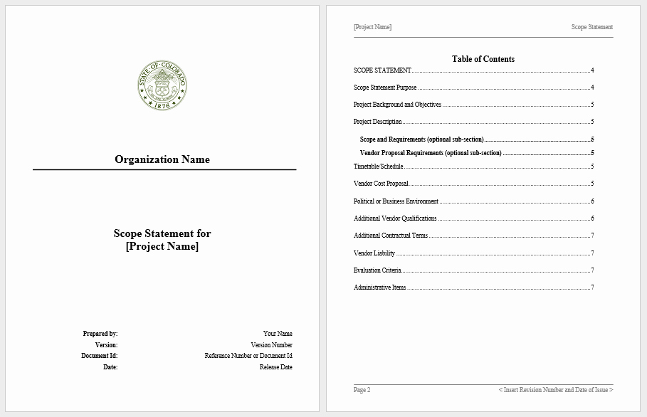 Statement Of Work Template Word New Statement Of Work Templates 13 Free Sample Templates