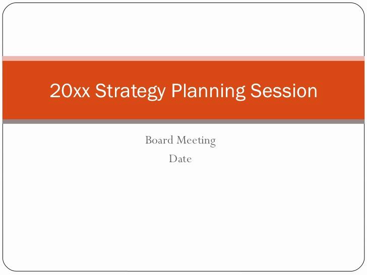 Strategic Plan Template for Nonprofits Beautiful Non Profit Strategic Planning Session Template