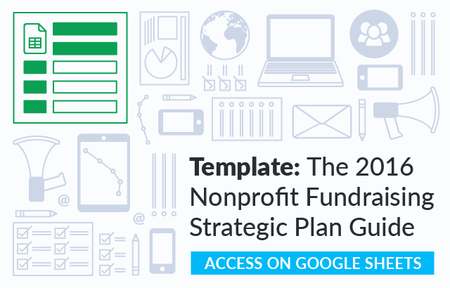 Strategic Plan Template for Nonprofits Best Of the Nonprofit Fundraising Strategic Plan Guide